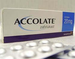 Prescription drug - Accolate for Capsular Contracture