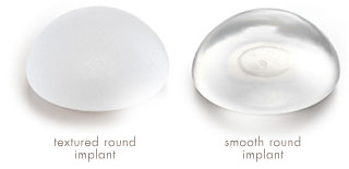 Image result for mentor round silicone implant