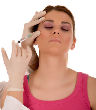 Woman receiving BOTOX Cosmetic